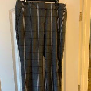 LOFT Julie plaid trouser